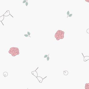 Girl`s Secret_Rose Bra Apple