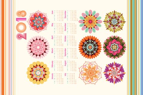 2018 peace and harmony tea towel fabric by camcreative on Spoonflower - custom fabric