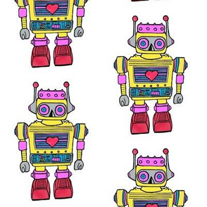 Yellow-Smaller size Robot