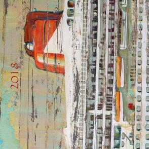 Queen of ships 2018 calendar