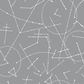 Geometric Lines_ grey