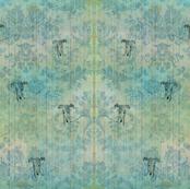 """""""NIZZA"""", sighthound, turquoise"""