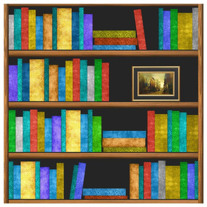 Bookshelf Quilt 18x18