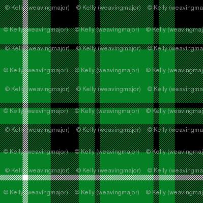 """Granger green tartan, 6"""""""