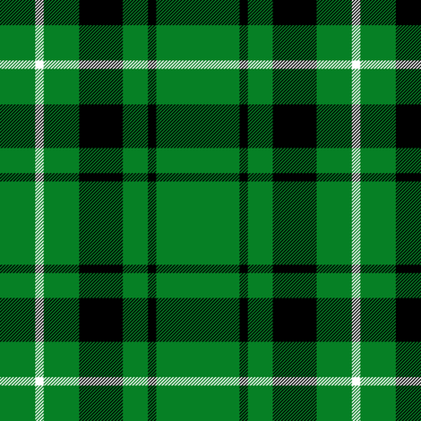 "Granger green tartan, 6"" fabric by weavingmajor on Spoonflower - custom fabric"