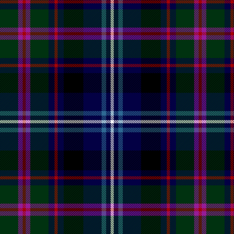 "Fitzgerald hunting tartan, 6"" dark fabric by weavingmajor on Spoonflower - custom fabric"