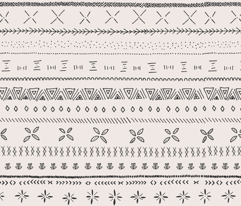 Boho Print fabric by shelbyallison on Spoonflower - custom fabric