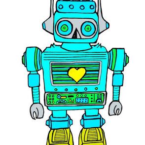 Plush cut & sew   robot