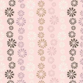 Falling Flowers in Light Pink