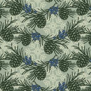 Woodland Pine Gray