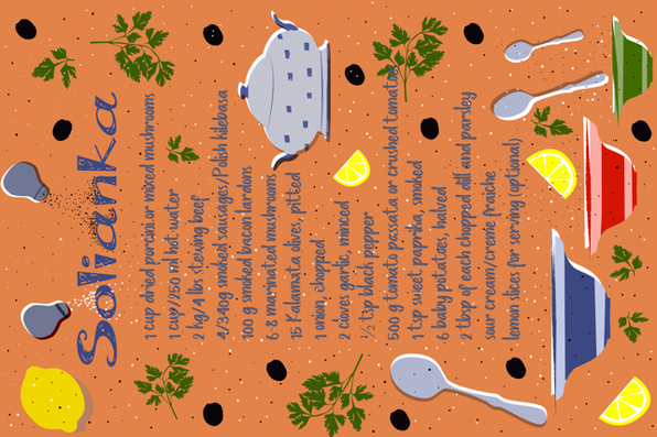 Family_Recipe_contest fabric by mariabonner on Spoonflower - custom fabric