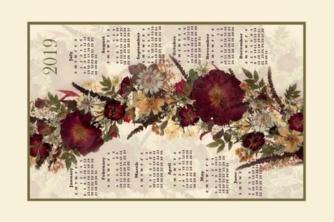 2019 Red Rose t towel fabric by mypetalpress on Spoonflower - custom fabric