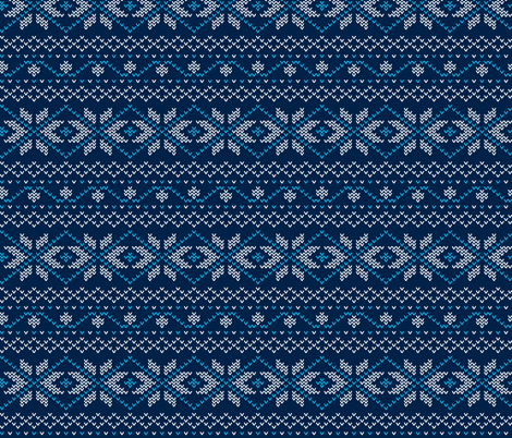 Winter Sweater fabric by mandrie on Spoonflower - custom fabric