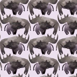 Purple rhinos