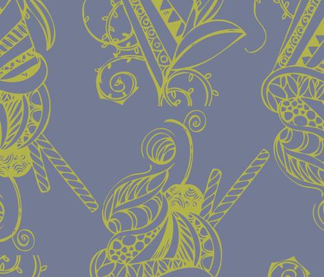 pattern001_Blend01 fabric by fishwalk on Spoonflower - custom fabric