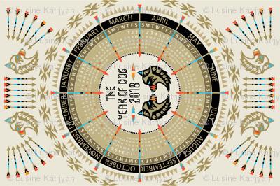 The_Year_of_Dog_2018_Calendar