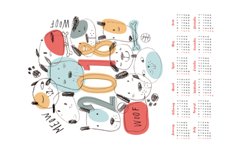 find the cats fabric by helen_halik on Spoonflower - custom fabric