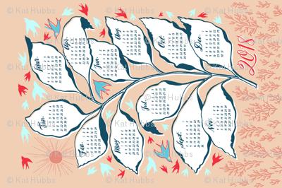Flock Calendar 2018