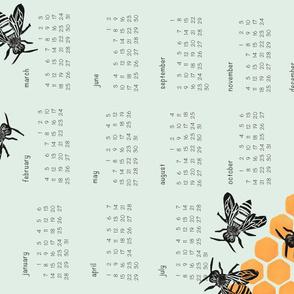 Tea Towel Calendar 2018