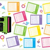 2018 Calendar Vintage Camera