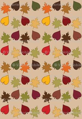 Fall Leaf Scatter