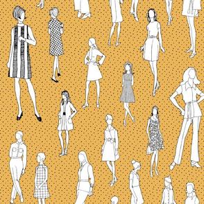 1960's Fashion - Mod Girls of the '60s | Citron Dot