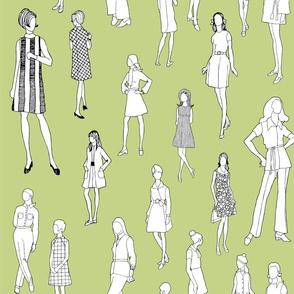 1960's Fashion - Mod Girls of the '60s | Avocado