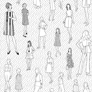 1960's Fashion - Mod Girls of the '60s | White Dot