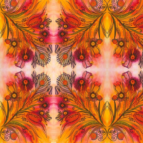 Red_and_Orange_Floral