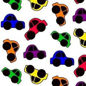 Neon Cars