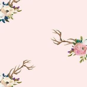 """7"""" Sweet Friends Antlers - Pink"""