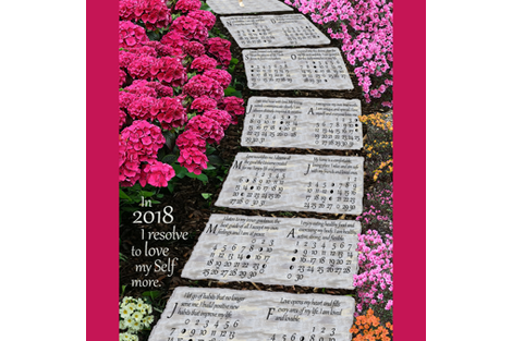 2018 Resolutions tea towel fabric by darrell_fleury on Spoonflower - custom fabric