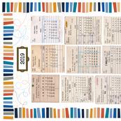 Library Tea Towel Calendar 2019