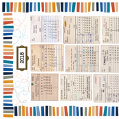 Library Tea Towel Calendar 2018