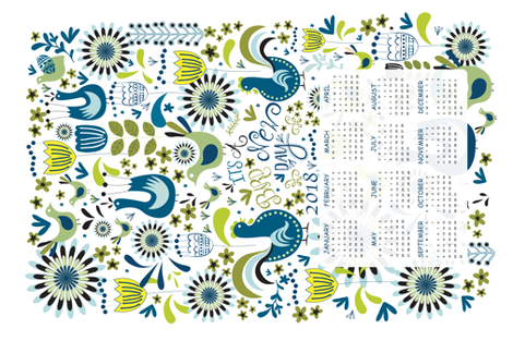 IT'S_A_BIRD_NEW_DAY_ fabric by plante on Spoonflower - custom fabric