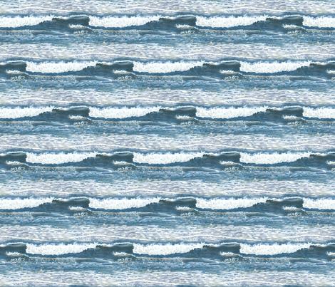 Blue Wave #11 fabric by eileenmckenna on Spoonflower - custom fabric