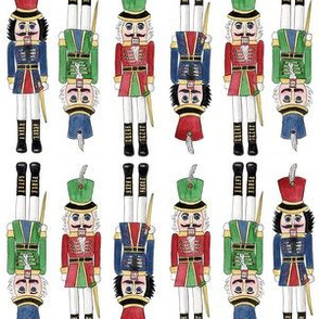 Watercolor Nutcrackers