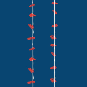 Birds on_ a wire - colorway 5