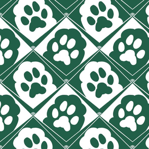 Puppy_Paws_Green_and_White