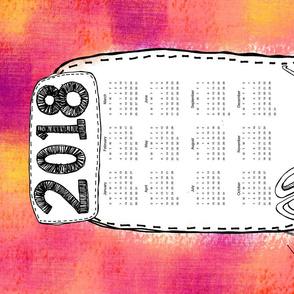Craft Time 2018 Calendar