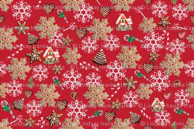 Gingerbread Vintage Christmas
