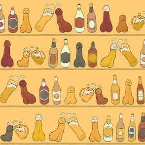 Cheers (Penis Beer Celebration) - Egyptian Wall Painting - Egypt Drunk Cupboard Glasses Bottles Tasty Delicious Alcohol Alcoholic Cock Happy Penis Dick Sweet Beer Bottle Meat Food Party Food Snacks Drinks Beverage Hungry Thirsty Love Married Couple S