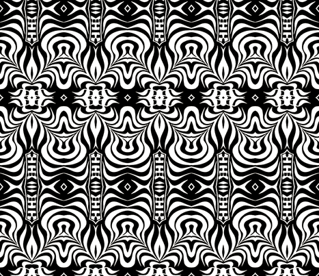 Distorted Point of View fabric by whimzwhirled on Spoonflower - custom fabric