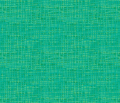 Shamrock Crosshatch fabric by bloomingwyldeiris on Spoonflower - custom fabric