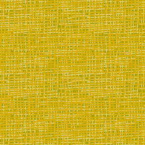 Ochre Crosshatch
