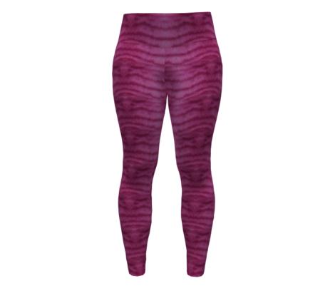 Magenta Fantasy Tabby Fur Stripes