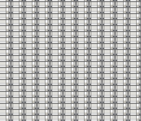 Plaid_in_Gray_and_Wht fabric by monaharris on Spoonflower - custom fabric