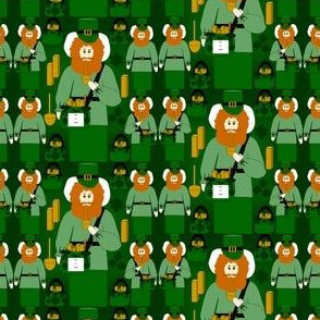 Jimmy Me Lucky Leprechaun Fabric Collection