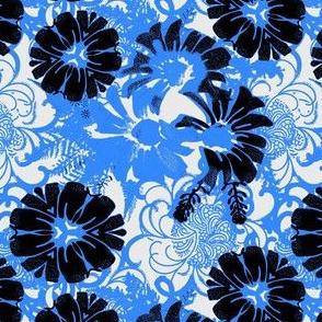 Retro Daisy Blue