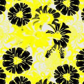 Retro Daisy Lemon